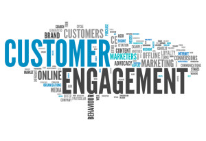 Word Cloud Customer Engagement