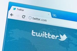 Twitter start page the popular social media October 19, 2011 in