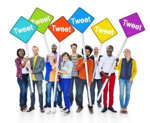 Tweet signs
